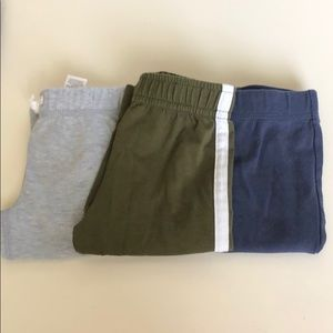 Bundle of 3 lightweight baby boy pants